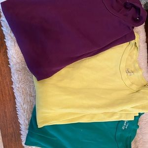Set of 3 JCrew long sleeve Perfect Fit T-Shirts